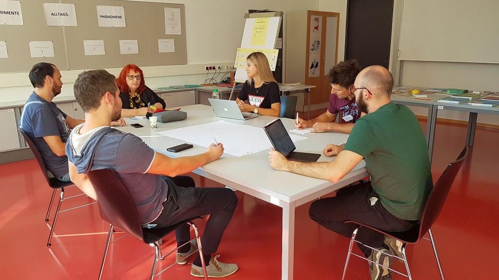 Das Team der MS Kirchberg/Raab bei der Projektentwicklung